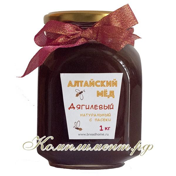 Дягилевый мед (алтайский, натуральный, с пасеки), 2018 г. АКЦИЯ