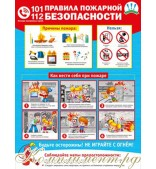 """""""Пожарная безопасность"""" (плакат)"""
