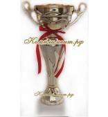 Кубок - чаша (цвет золотой, блестяще - матовый)