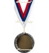 """Медаль """"серебро"""", размер 70 мм"""