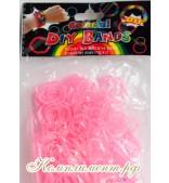 Резинки для плетения браслетов  (розовый светящийся)