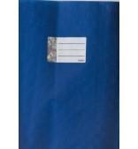 Обложка синяя, размер 21,1*29,8 см.