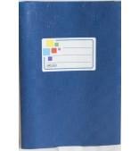 Обложка синяя, размер 15,1*21,3 см.