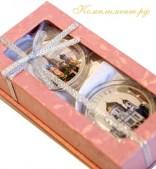 Коробочка для медали, розовая