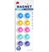 Магниты 20 мм (набор 10 штук)