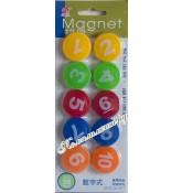 Магниты цифры (набор 10 штук)