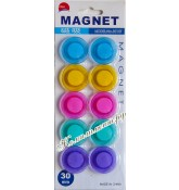 Магниты 30 мм (набор 10 штук)