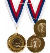 Медаль металлическая, 45 мм, на заказ, двусторонняя
