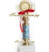 Кубок (на узкой ножке голубого цвета)
