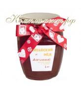 """Дягилевый мед, подарочный вариант """"С Новым годом!"""""""
