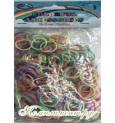 Резинки для плетения браслетов (микс светящийся)