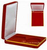 Футляр для ордена (бархатный, красный)
