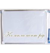 Доска магнитно-маркерная (двусторонняя, размер 30*40 см)