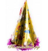 Колпак карнавальный (зонтики) 25см